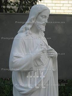 Религиозная скульптура из бетона на могилу  № 1