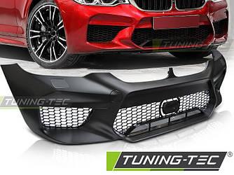 Передний бампер тюнинг обвес BMW G30 стиль M5