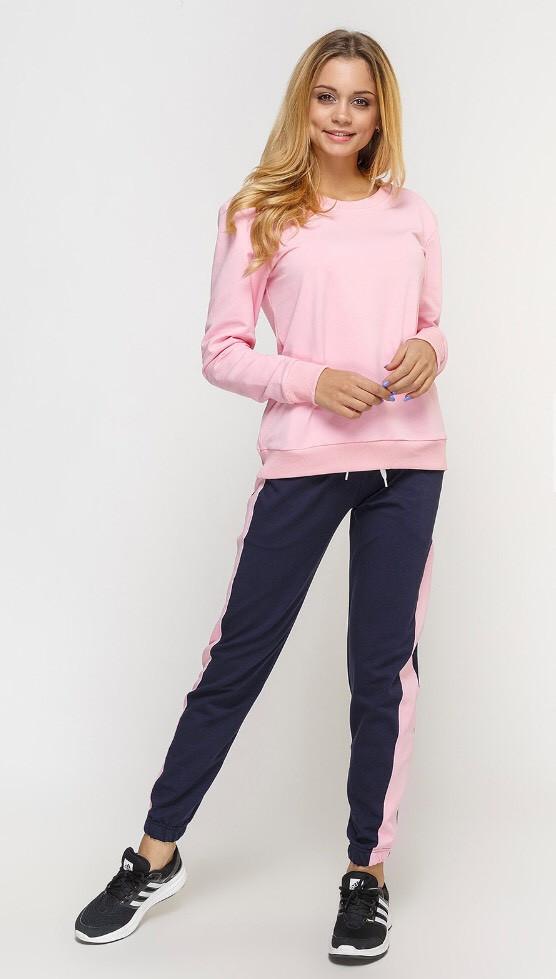 Костюм спортивный женский, свитшот и штаны спортивные
