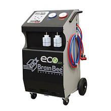 Установка для обслуговування автомобільних кондиціонерів CLIMA 6000 ECO 1234 Brain Bee