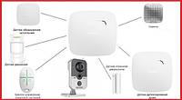 Комплект беспроводной сигнализации для квартиры студии + видеонаблюдение Ajax  (White), фото 1