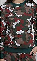 Спортивний костюм жіночий, камуфляж, фото 3