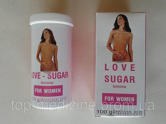Афродизиак, любовный сахар для женщин 100гр.