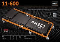 Тележка на роликах для работы под автомобилем,  NEO  11-600, фото 1