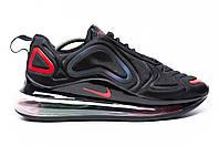 Мужские кроссовки Nike Air Max 720 Black/red, фото 1