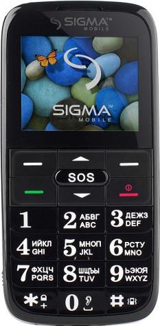Мобильный телефон Sigma Comfort 50 Slim 2 Black Гарантия 12 месяцев
