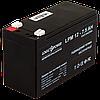 Акумулятор кислотний AGM LogicPower LPM 12 - 7.5 AH