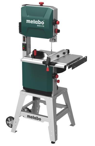 Пила ленточная Metabo BAS 318 Precision DNB (380 В.)