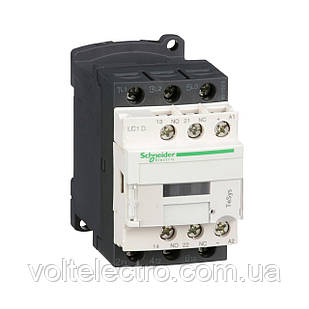 LC1D09BD Контактор D 3Р, 9 A, НО+НЗ, 24V DС
