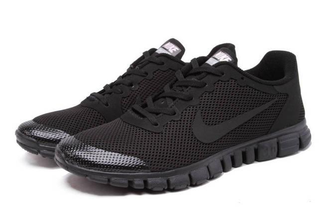 Мужские Кроссовки NIKE FREE 3.0 v2 Серый/Черный, фото 2