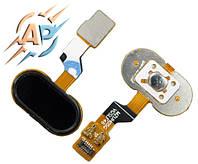 Кнопка сенсорная для смартфона Meizu M3s черный