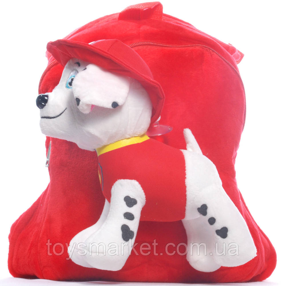 Детский рюкзак Щенячий патруль с щенком Маршал
