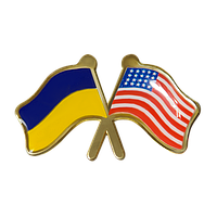 Значок Украина-Америка