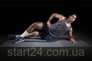 Ролик массажный профилированный ProSource Bullet Sports Medicine Roller 35,6x12,7см фиолетовый, фото 3
