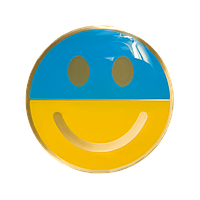 Значок смайлик украинский