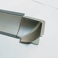 Угол внутренний на Алюминиевый плинтус вогнутый