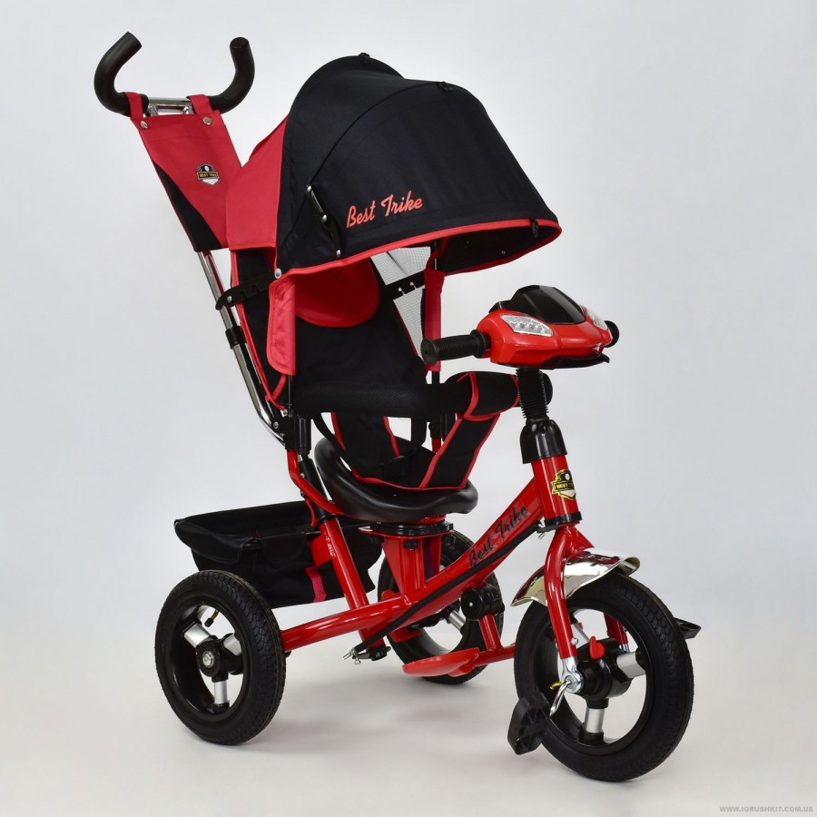 Дитячий триколісний велосипед Best Trike 7700 B поворотне сидіння