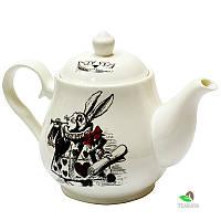 Чайник заварочный Wilmax 850 мл Белый кролик