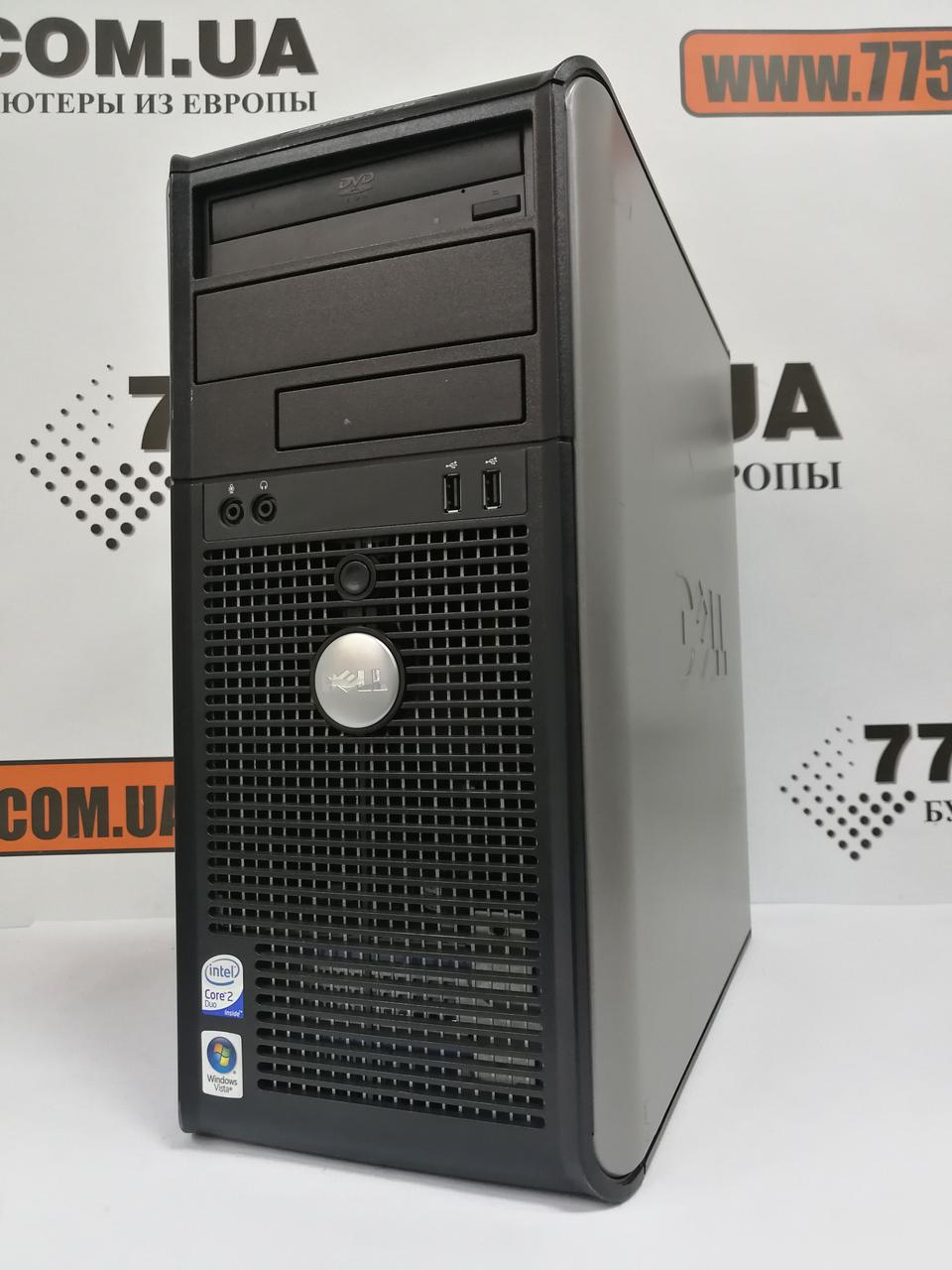 Компьютер DELL Optiplex 755/760 Tower, без CPU, без RAM (DDR2), без HDD