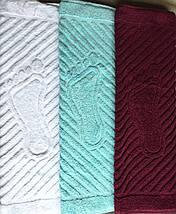 Полотенце/коврик для ног (белый), фото 2