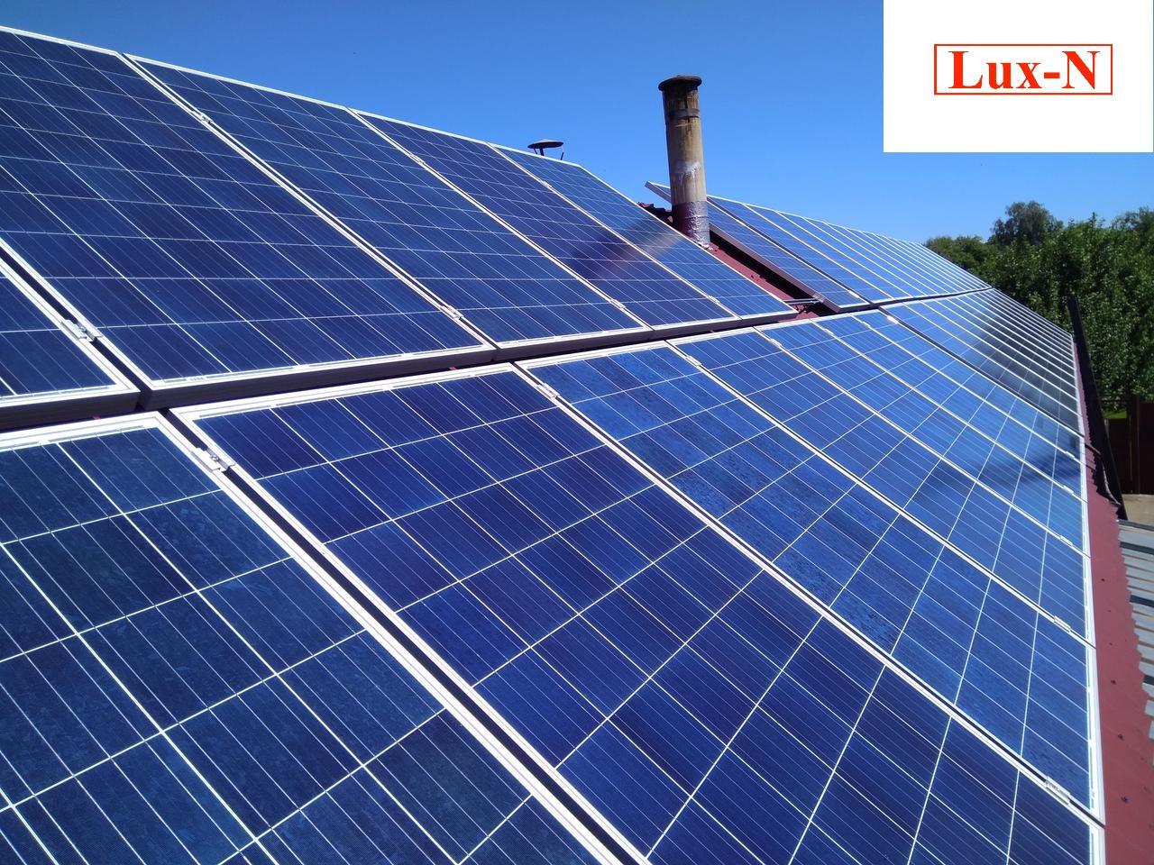 """Мережева сонячна електростанція 10 кВт, 380 В, під """"зелений тариф"""". Сетевая солнечная электростанция 10 кВт, фото 1"""