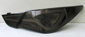 Hyundai Sonata YF оптика задняя альтернативная светодиодная черная LED Hybrid Style