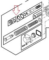 RE279696 комплект заглушок John Deere