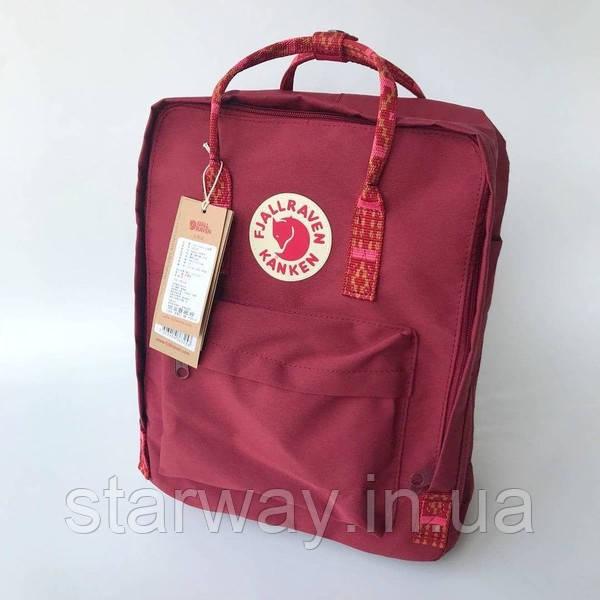 Рюкзак Fjallraven Kanken logo Classic Bag   Оригинальная бирка стильная