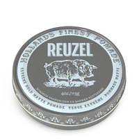 Помада для укладання волосся екстра Reuzel Extreme hold matte grey, REU046, 113 г
