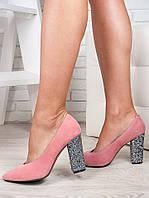 Туфли толстый каблук в Украине. Сравнить цены 45e15a7f8c8af