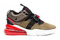 Мужские кроссовки Nike Air Force 270 Brown, фото 1