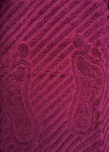 Полотенце для ног бордо 50х70, фото 2