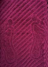 Полотенце/коврик для ног (бордо)