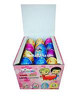 Яйцо шоколадное пластиковое Toy Egg Love Is 24 шт, 15 гр (Vitaland)