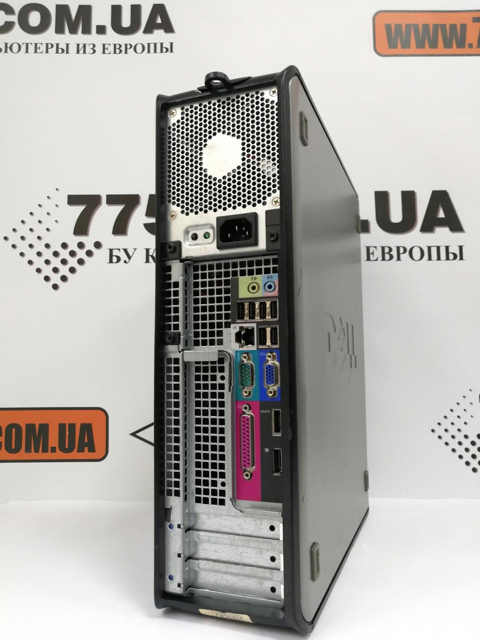 Компьютер Dell OptiPlex 760 (Desktop), Intel Core2Quad Q6600 2 4GHz, RAM  4ГБ, HDD 160ГБ