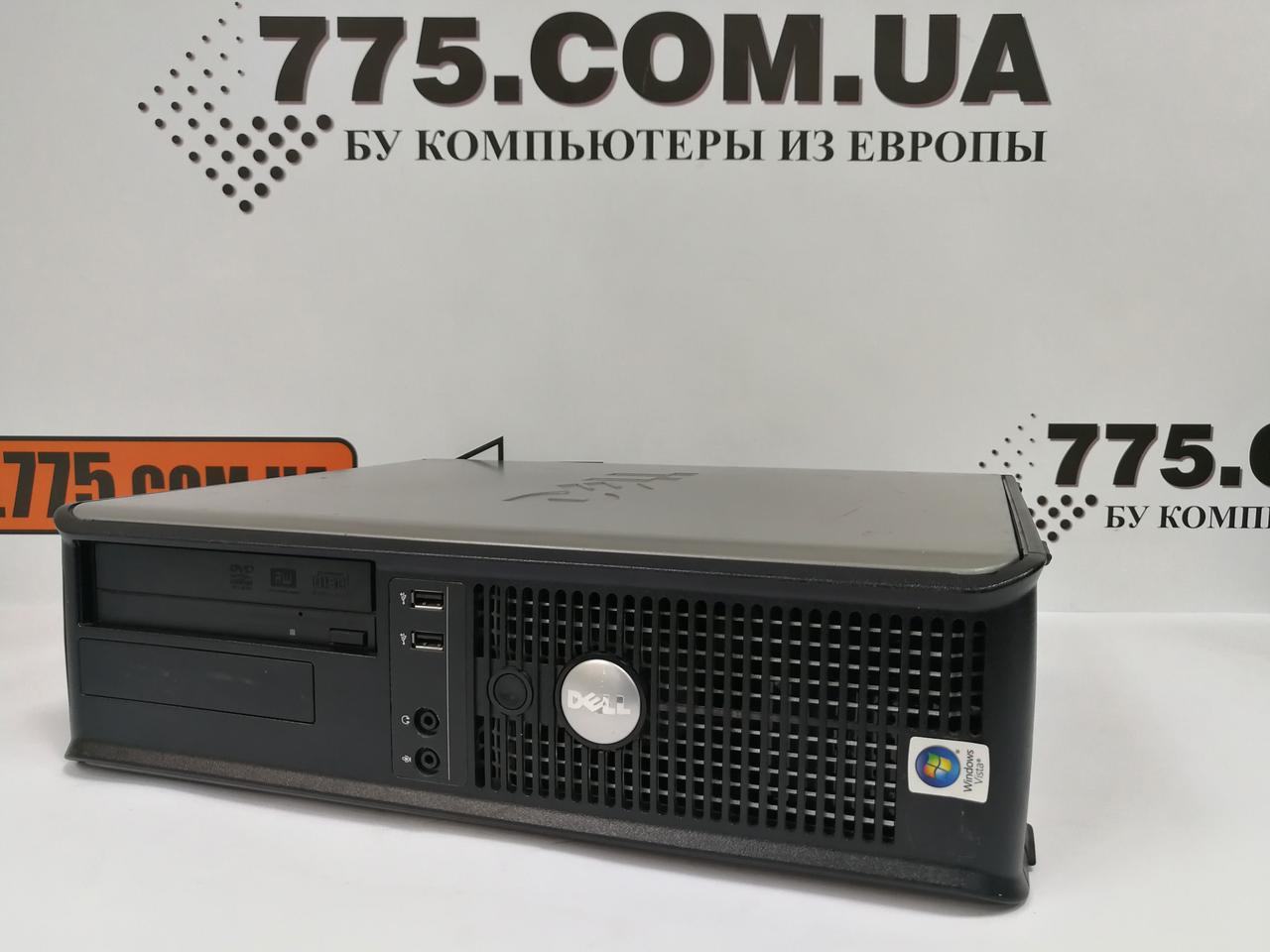 Компьютер Dell OptiPlex 755 (SFF-Desktop), Intel Pentium E5800 3.2GHz, RAM 2ГБ, HDD 160ГБ