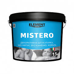 Декоративная штукатурка Element Decor Mistero 15кг (Grotto & Travertino)