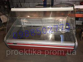 Холодильная витрина бу 1.3м витрина холодильная универсальная бу, витрина бу, холодильная бу