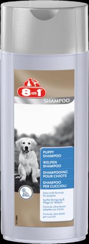 """Шампунь с ароматом детской присыпки для щенков """"Puppy Shampoo"""" (250мл), 8in1"""