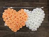 Украшение на свадебную машину двойные сердца, фото 2
