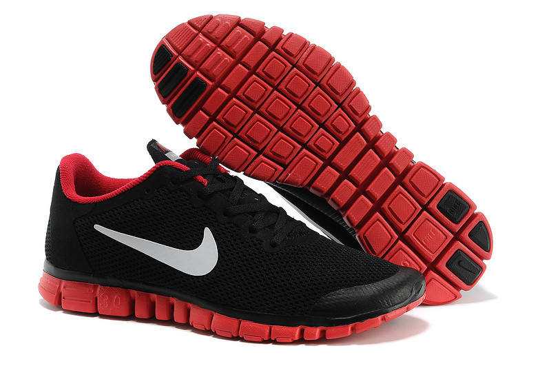 ca8a04fe Мужские Кроссовки NIKE FREE 3.0 v2 Черно/Красный - BBZ Shoes & Wear в  Харькове
