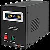 ДБЖ з правильною синусоїда LogicPower LPY-B-PSW-1500VA+(1050W)10A/15A 24V для котлів і аварійного освітлення