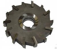 Фреза дисковая трехсторонняя ф 63х8х22 мм Р6М5 прямой зуб цельная