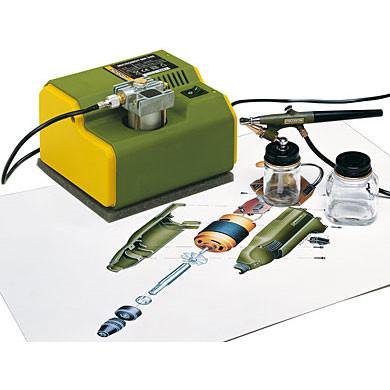 Мини компрессор-аэрограф PROXXON MK240/AB100 (27120)