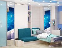 Детская комната для мальчика Космос (изготовления по индивидуальному проекту)