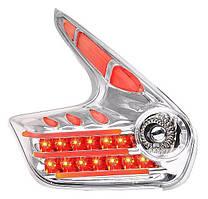 Nissan Juke оптика LED задняя хром