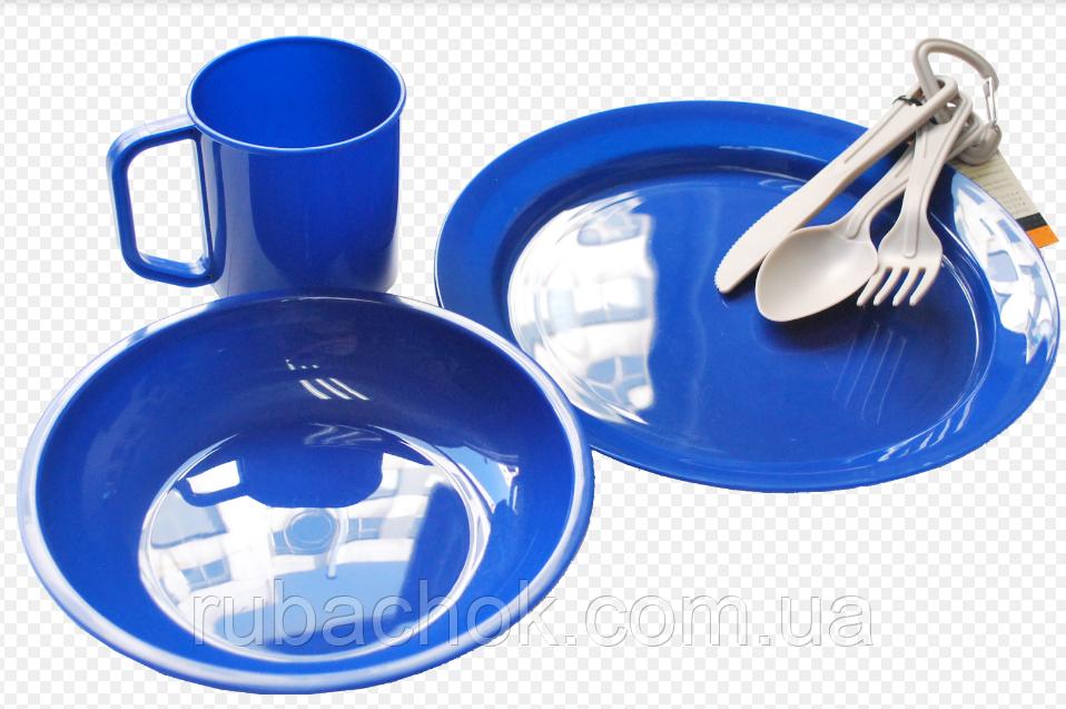 Набор посуды пластикового Tramp