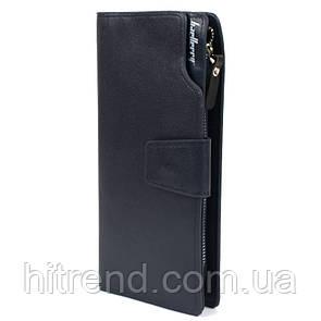Стильный мужской клатч Baellerry Business синий - 137665