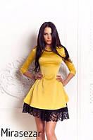 Платье Беби-дол гипюр