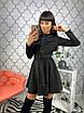Красивое женское платье с бантом на воротнике, фото 4